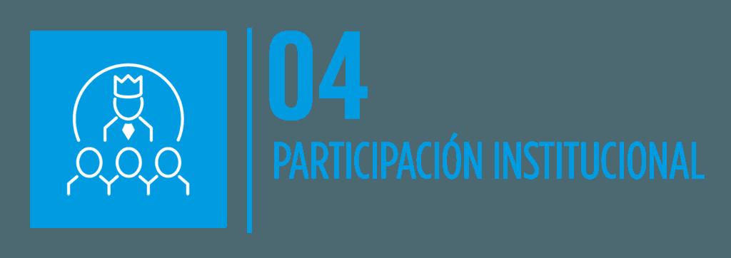 Participación Institcional 2020
